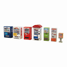 Papercraft Vending Machine Unique Sankeishop Rakuten Global Market Diorama Option Kit ◇ Paper
