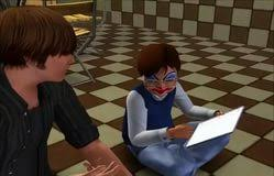 My Sims   Blog  Child Skin by Syeelovesims Introduction Paragraph Hook Thesis     The Sims   daycare room