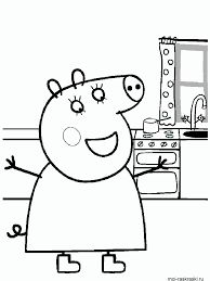We have collected 34+ peppa pig george coloring page images of various designs for you to color. Peppa Pig Coloring Pages Free Printable Peppa Pig Coloring Pages