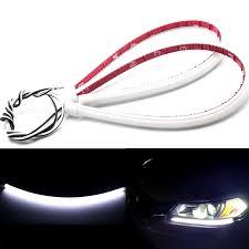 2013 Honda Accord Parking Light 2pcs Xenon White Led Headlight Daytime Running Light Strip