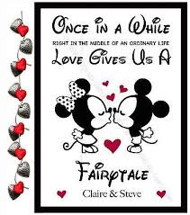 personalised valentines day gifts disney for him her anniversary present
