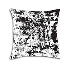 Guts and Grit Abstract Decorative Throw Pillow