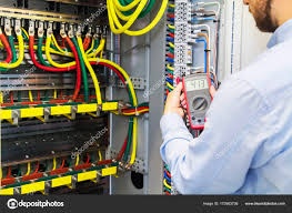 engineer tests power high voltage three phase circuit box with Craftsman Multimeter Fuses at Testing Fuse Box With Multimeter