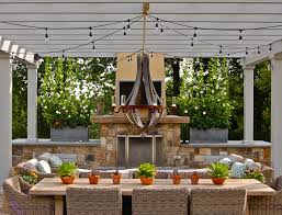 tips on the installation of outdoor patio string lights theplan com