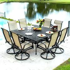 large outdoor dining table 8 person outdoor dining set large square 8 person outdoor dining table