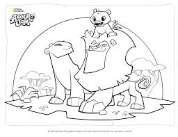 Animal Jam Coloring Pages As Well As Animal M Coloring Pages Wolf