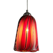 murano glass mini pendant light