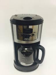bella 12 cup programmable coffee maker chrome black