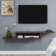tv shelf wall ideas tv mount shelf