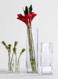 lofty tall vase square clear glass florist supply wedding event decor uk bulk ikea with