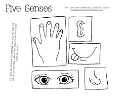 Small Picture Free printable five senses Teach your toddler hisher five