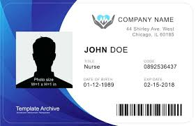 Id Cards Templates Free Downloads Personal Id Card Template Free Download Photo Cafegrande Co