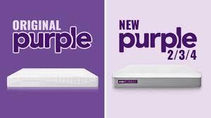 Purple Mattress Comparison Original Vs New 2 3 4 Guide 2019