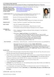 Pr Consultant Sample Resume Communications Consultant Sample Resume Soaringeaglecasinous 14