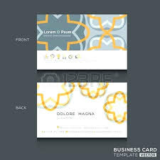 Photo Id Template Free Download Retro Business Cards Design Template Vector Id Card Free Download