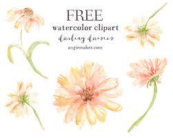 free watercolor clip art