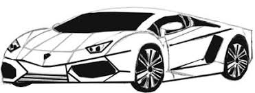 sport cars drawings. Exellent Drawings Sports Car Drawing Step 6 With Sport Cars Drawings YeDrawcom