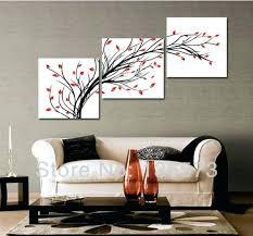 wall and peice lofty idea wall art paintings for living room piece set modern blue walls