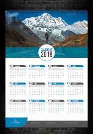 Wall Calendar Wall Calendar 24 by bourjart GraphicRiver 1
