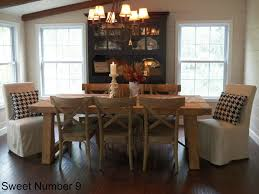 dining room tables pottery barn rustic pact
