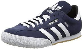 adidas sneakers. adidas men samba super suede trainers, blue (navy/running white footwear), sneakers a