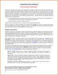 Sample Construction Loan Agreement Sample Construction Contractconstruction Loan Contract For Building 1