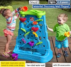 step2 waterfall discovery wall playset best toys for 2 year olds