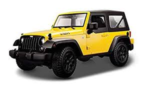 jeep wrangler 2014. Simple Wrangler 2014 Jeep Wrangler Yellow  Maisto 31676YL 118 Scale Diecast Model Car On Wrangler