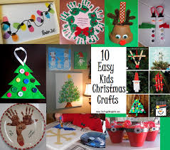 Easy Christmas Crafts 10 Easy Kids Christmas Crafts Diy Crafts Pinterest Navy