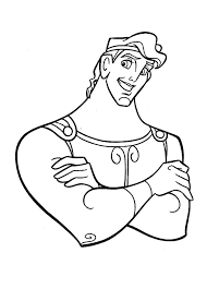 Small Picture Free Printable Hercules Coloring Pages In Movie Scene Page