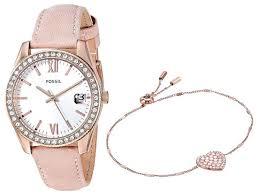 Купить Наручные <b>часы</b> FOSSIL ES4607SET по низкой цене с ...