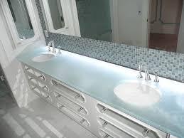 bathroom counter tops. Glass Bathroom Countertops Counter Tops A