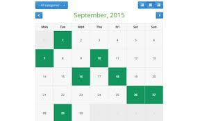 Customizable Calendar 2015 Php Event Calendar Php Calendar Script Phpjabbers