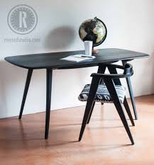 surfboard furniture. Surfboard Furniture. Mcm Table Milk Paint Old Fashioned Pitch Black On Furniture