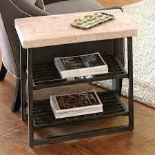 wooden side table with drawer living room furniture side tables chair table narrow coffee riverside alabaster