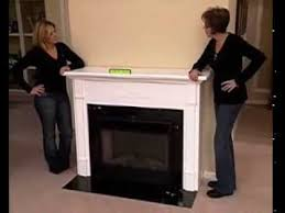 how to makeover your home using a fireplace mantel and electric fireplace pbs part 3 you