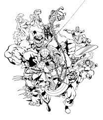 X men coloring pages coloringpages1001 com. Marvel Coloring Pages Best Coloring Pages For Kids