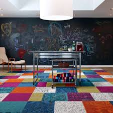 view in gallery these patchwork rug squares by flor bring the room happiness thumb 630xauto 54062 these patchwork rug