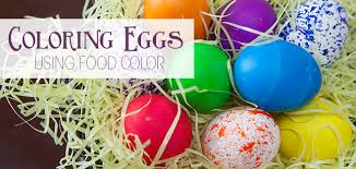 Food Dye Color Chart For Easter Eggs Coloring Eggs Using Food Color Charts And Learning Aids
