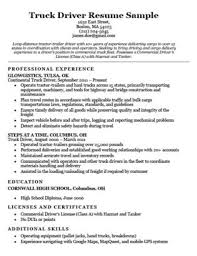 Truck Driver Cover Letter Samples Truck Driver Cover Letter Sample Resume Companion
