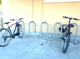 diy outdoor bicycle rack home bike ideas racks roof mount tire hold guide freestanding vertical medium
