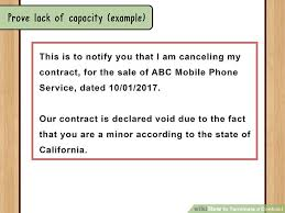 Cancellation Of Purchase Agreement Form Elegant How To Terminate A