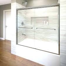 bathtub sliding doors installation