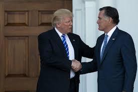 Times Romney's Utah New Seat Endorses Run - Trump Senate For Mitt The York