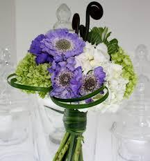 Scabiosa Floral Design Lavendar Scabiosa Bridal Bouquet This Understated Casual B