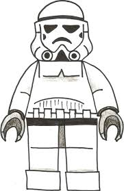 stormtrooper coloring page lego star wars pages