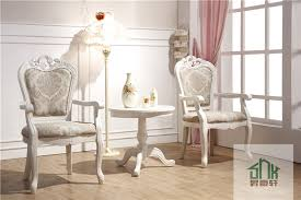 wooden round table and chair set hb 601 two seater table and chair set