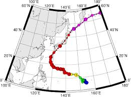 Typhoon Tracking Chart Digital Typhoon Typhoon 197920 Tip General Information
