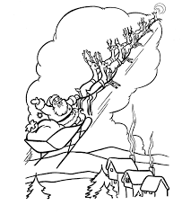 Small Picture The Holiday Site Santas Reindeer Coloring Pages