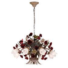 Подвесная люстра <b>Lucia Tucci Fiori</b> Di Rose 1760.8 купить в Москве
